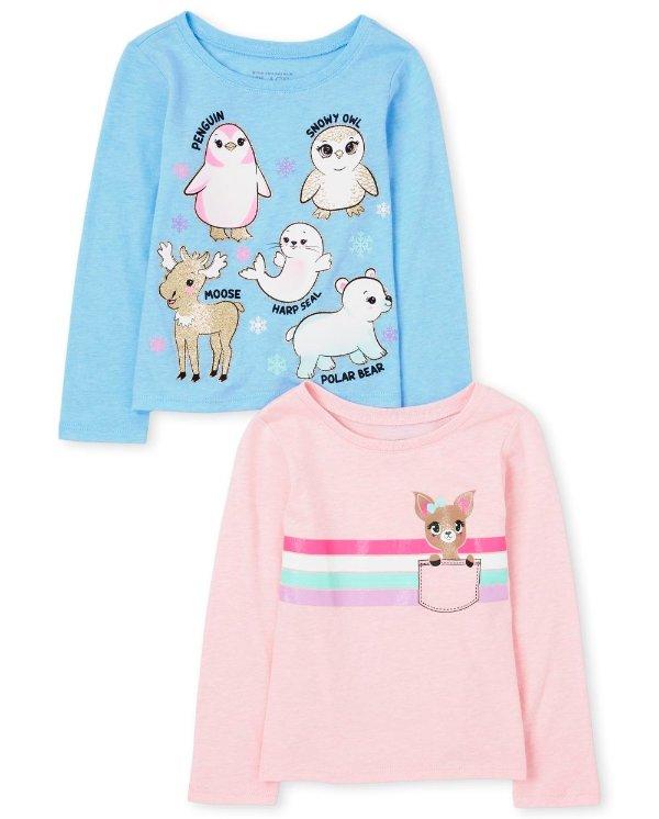 婴幼儿T恤2件套