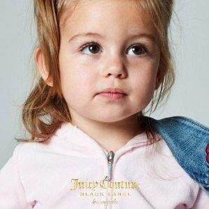 JC爬服$5抢 公主套装$22开学季:Juicy Couture 天鹅绒套装 公主裙 水果女孩的衣柜