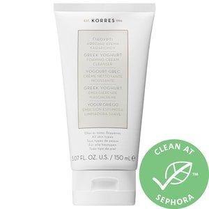 Greek Yoghurt Foaming Cream Cleanser  - KORRES | Sephora