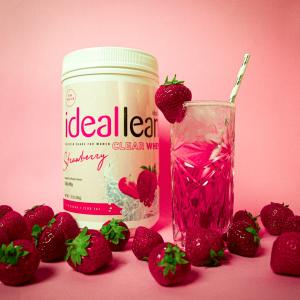 IdealLean草莓味低卡乳清分离蛋白粉