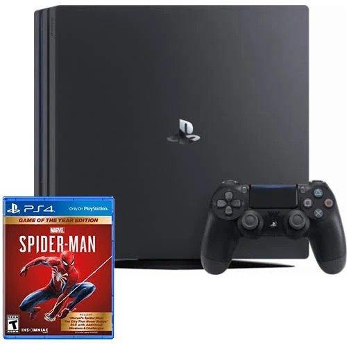 PlayStation 4 Pro 1TB 《蜘蛛侠》同捆