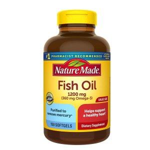 第2件半价Amazon 个护保健品促销 收Nature Made鱼油,褪黑素