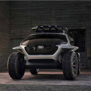 无人四驱越野车Audi AI: Trail Quattro 概念车亮相