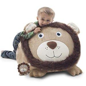 低至$35.10 包邮Big Joe 超大动物造型儿童豆袋沙发 多款可选
