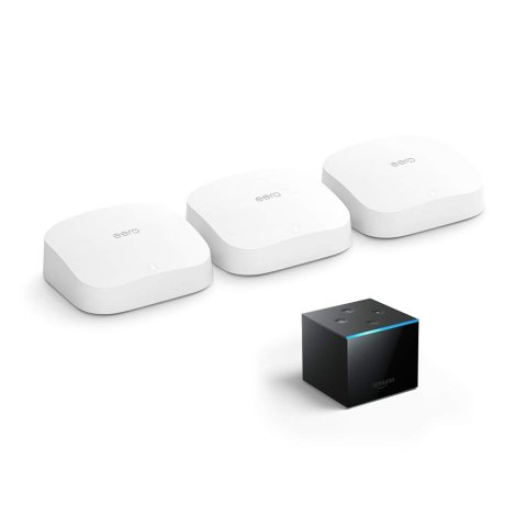 New Release: eero Pro 6 mesh wifi system bundle with Fire TV Cube