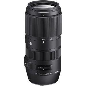 $549Sigma 100-400mm f/5-6.3 DG OS HSM 长焦镜头