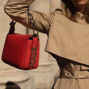 Karl Lagerfeld7折,4色可选单肩包