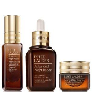 Estee Lauder小棕瓶护肤3件套