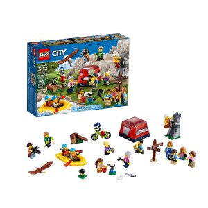 LEGO Town People pack Outdoors Adventures 60202 Building Kit (164 Pieces)