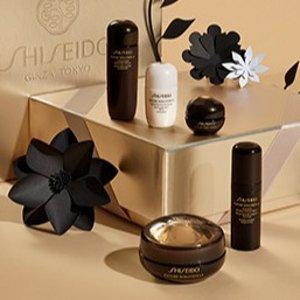 8.5折即将截止:Shiseido 资生堂精选护肤品热卖 收时光琉璃套装