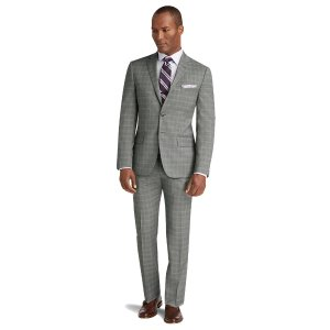 Reserve Collection Slim Fit Plaid Suit CLEARANCE - All Clearance | Jos A Bank