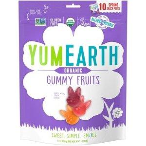 YUMEARTH3种果味 有机 防过敏有机兔子软糖