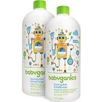 Babyganics 婴儿专用餐具奶瓶泡沫清洁剂 32盎司x2瓶