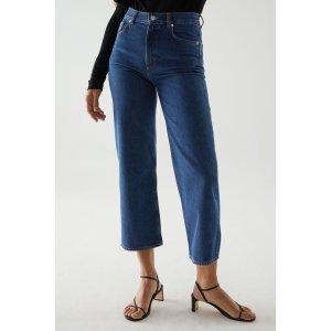 COS高腰牛仔裤
