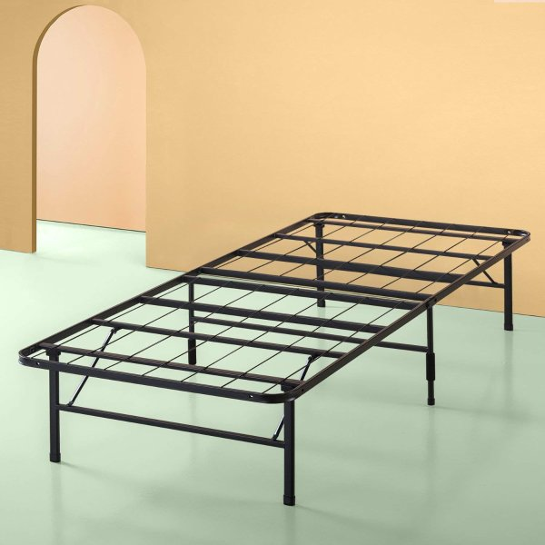 Zinus 静音折叠床架,14英寸Twin XL