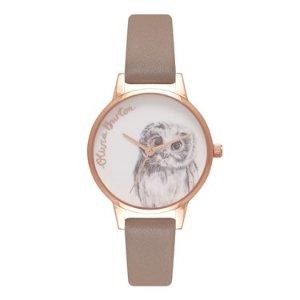 Olivia Burton猫头鹰腕表