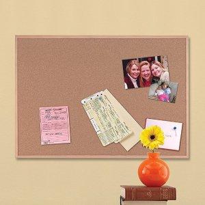 $8.47 (原价$20)Quartet 橡树公告板17 x 23英寸,家用记事好帮手