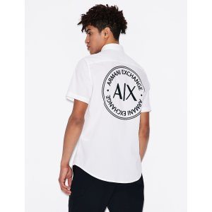 Armani ExchangeLogo衬衫
