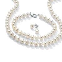 PalmBeach Jewelry 珍珠饰品套装