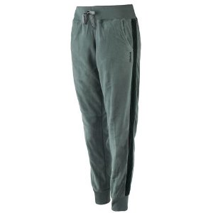 Reebok Women's Polar Fleece Striped Jogger Pants