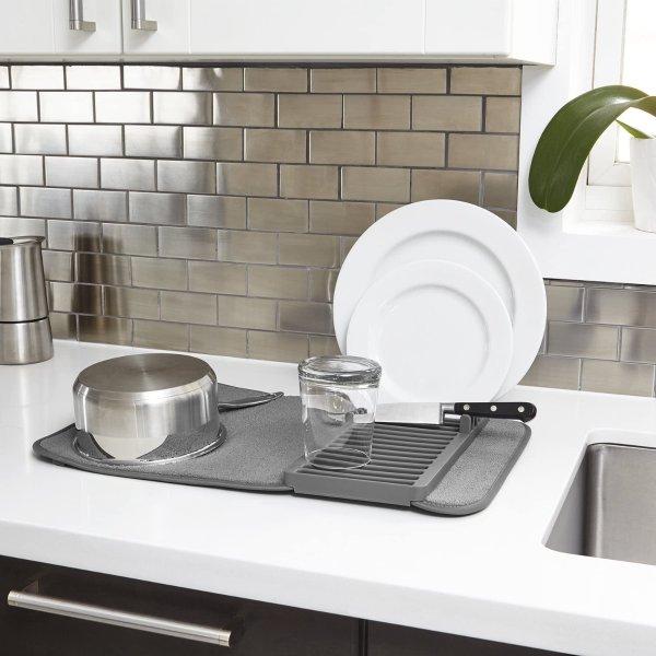Umbra UDRY 碗盘沥水架+超细纤维干燥垫