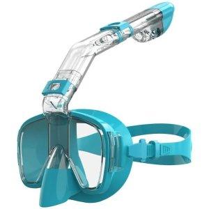 含运动相机固定架潜水镜