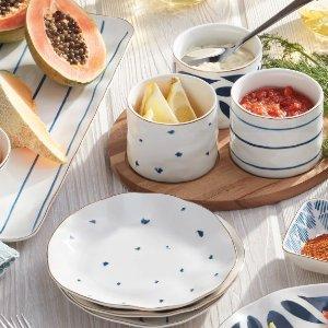 低至3.2折 全场包邮Lenox 精美餐具、装饰品促销
