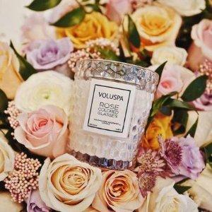 7.5折 $10起多款香味最后一天:Voluspa 香氛蜡烛 明星婚礼伴手礼首选  ins家居风必备