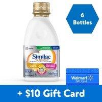Similac 非转基因婴儿液体奶1夸脱*6瓶