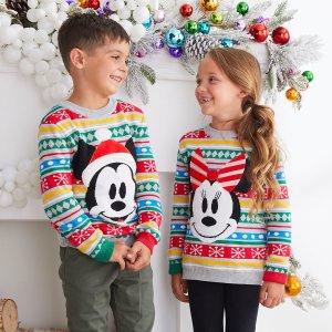 低至4折+无门槛包邮限今天:shopDisney 儿童服饰、玩具、附件、家居品促销 错过等半年