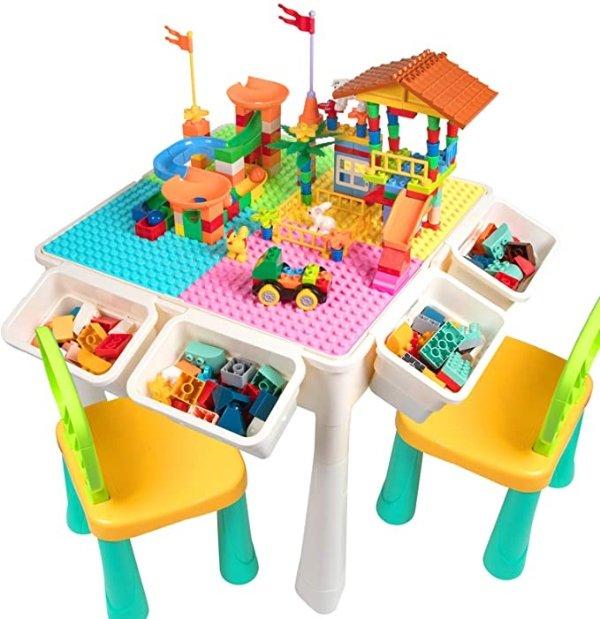 儿童积木桌