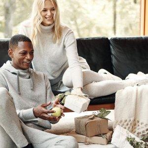 低至5折+额外4折Banana Republic 舒适居家服折上折 休闲阔腿裤$28.4