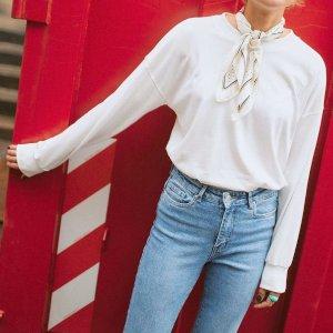 低至2.5折 €10.99收封面同款白色上衣Vero Moda 舒适北欧风 特卖价收秋季新衣 €9.5收爱心款T恤