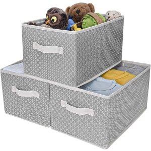 GRANNY SAYS Kid's Fabric Storage Bin