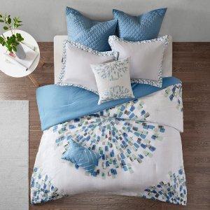 $37.99Urban Habitat Nico 7 Piece Cotton Comforter Set  @ Designer Living