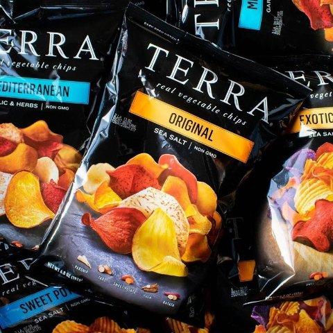 $2..8TERRA Mediterranean Chips, 6.8 oz.