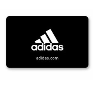 Adidas$60 gift card