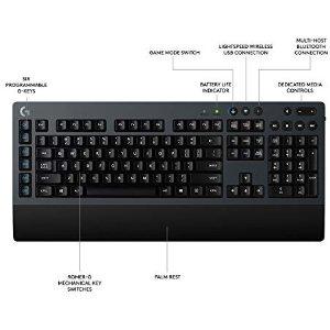 $64.99黒五价:Logitech G613 无线机械键盘
