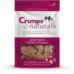 $10.47(原价$16.99)Crumps's Naturals 宠物羊排零食 无色素防腐剂等添加