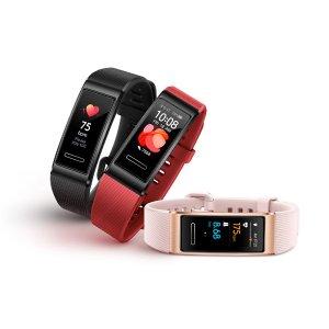 $68起 多色可选Huawei 华为智能手环4代 全新上架