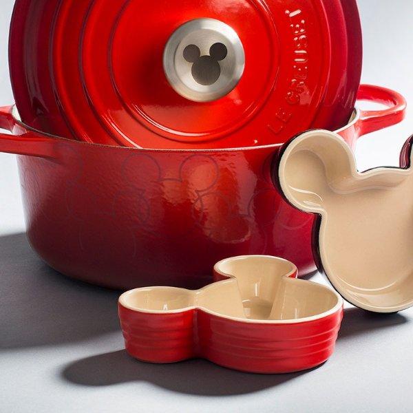 米老鼠限定版珐琅铸铁锅