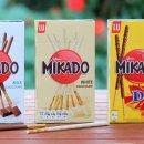 现价£1(原价£1.6)Mikado 巧克力饼干热促 裹满坚果的格力高巧克力棒