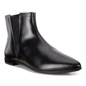 ECCO平底短靴