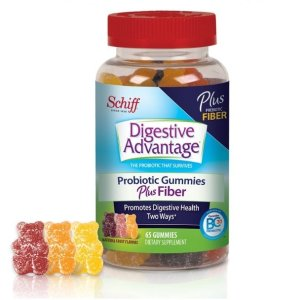 $12.85 Digestive Advantage Probiotics - Daily Probiotic Gummies, 80 Count