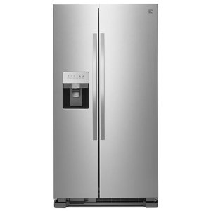 $779.99Kenmore 50043 25立方英尺不锈钢双开门冰箱 三色可选