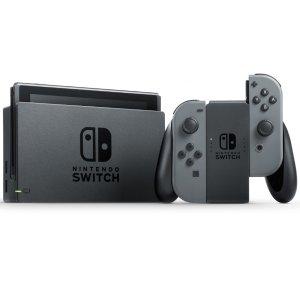 $448 现货速抢补货:Nintendo Switch 游戏主机 灰色款
