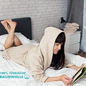 仅售€34.99 多色可选100%全棉浴袍 贴身舒适 机洗烘干不变形 男女情侣款