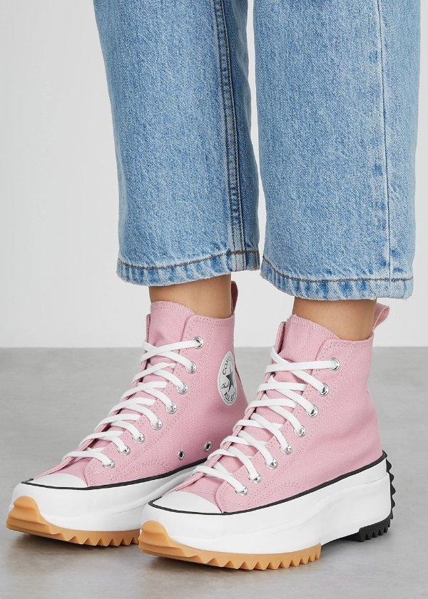 Run Star Hike 粉色运动鞋