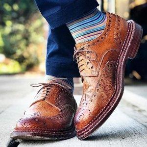 全场7.5折 £123收手工小白鞋Grenson 英伦手作鞋履品牌 性价比惊人