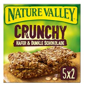 5大盒x10条装 共50条 仅售9.95欧 香脆可口Nature Valley 燕麦巧克力谷物脆脆能量棒